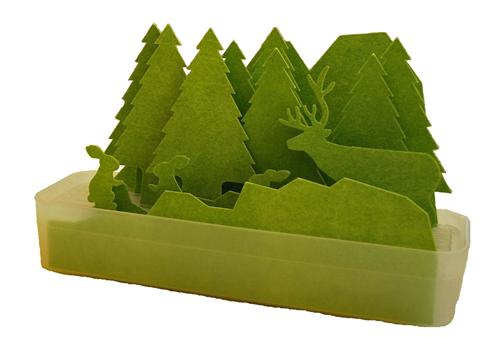 樹脂製自然気化式加湿器