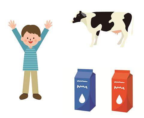 尿酸値の低下に効果のある牛乳