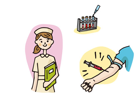 健康診断で行われる血液検査