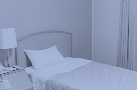 環境の悪い寝室