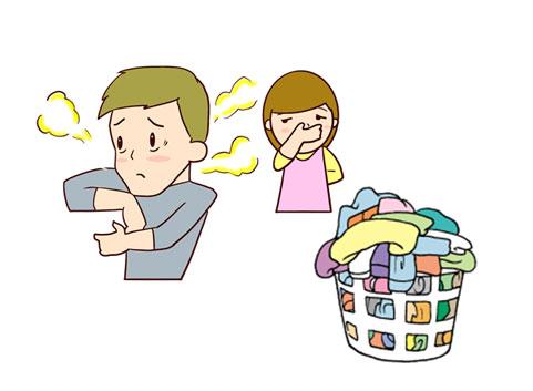 洗濯物を放置していて臭くなった人