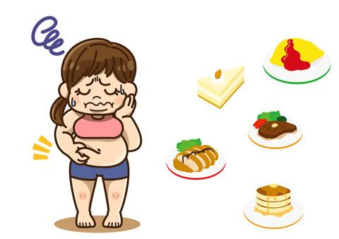 ダイエット中の人