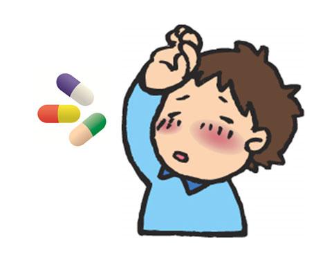 インフルエンザの子供と薬