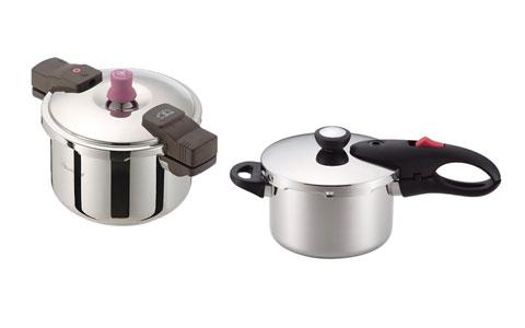 両手鍋と片手鍋
