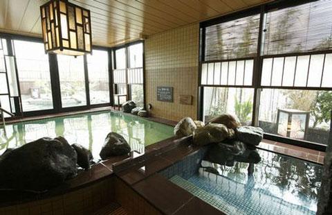 ドーミーイン鹿児島の温泉大浴場