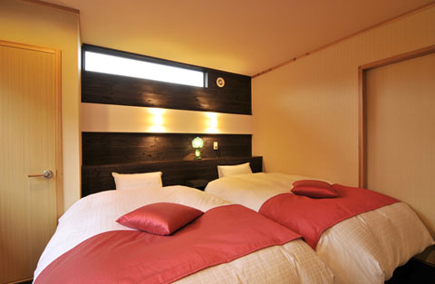 一心のベッドルーム