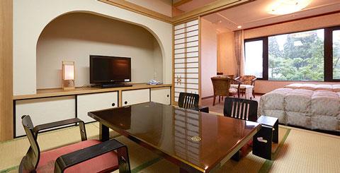 霧島ホテル高千穂館和洋室