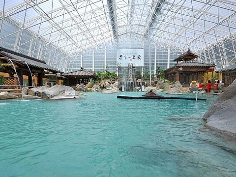 霧島ホテル庭園大浴場