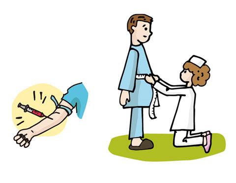 健康診断でのメタポと血液検査