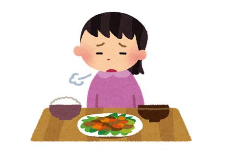 食欲の無い人