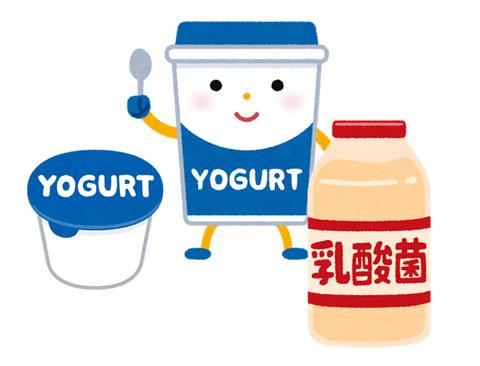 ヨーグルトや乳酸菌飲料