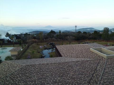 ラビスタ霧島ヒルズの4階からの眺望