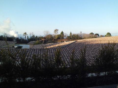 ラビスタ霧島ヒルズの2階からの眺望