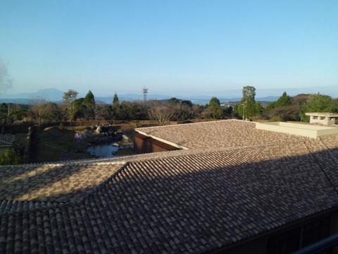 ラビスタ霧島ヒルズの3階からの眺望