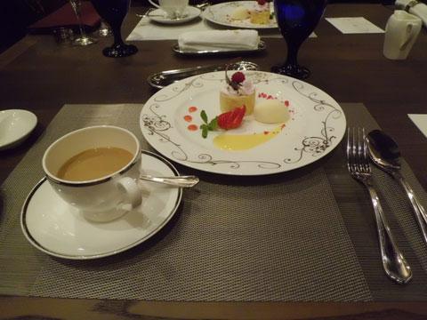 ラビスタ霧島ヒルズの夕食