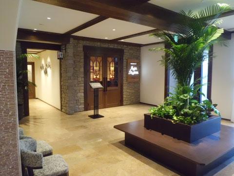 ラビスタ霧島ヒルズのレストランの入り口