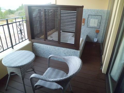 ラビスタ霧島ヒルズのお部屋のベランダと露天風呂