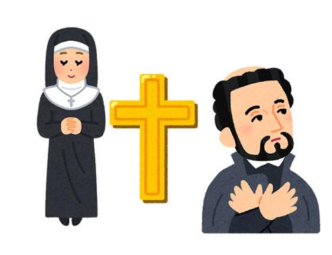 キリスト教の人