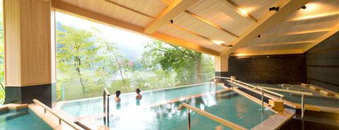 宇奈月温泉やまのはホテルの大浴場