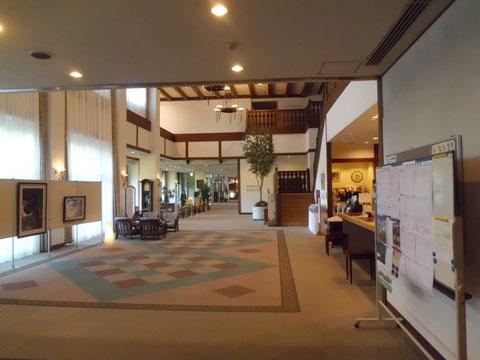 立山グリーンビューホテルのフロント