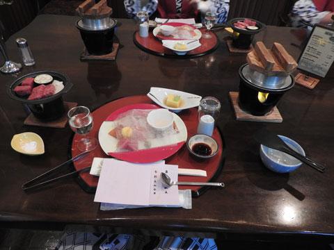 立山グリーンビューホテルの夕食
