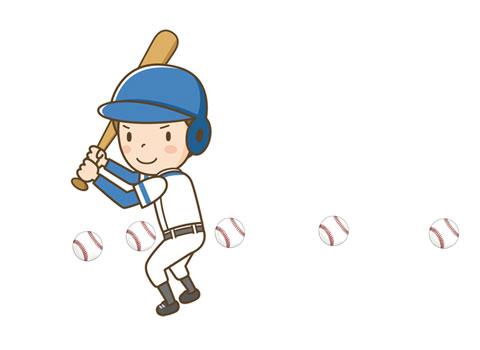 目でしっかりボールを捉えている野球のバッター