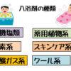 入浴剤の種類にはどんなものがあるのか、その特徴や効能