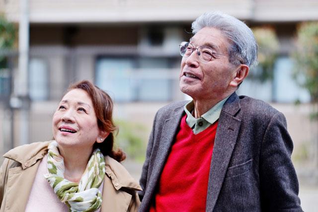 高齢の夫婦