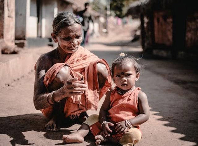 医療の不十分な地域の子供
