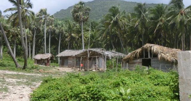 貧しい家々